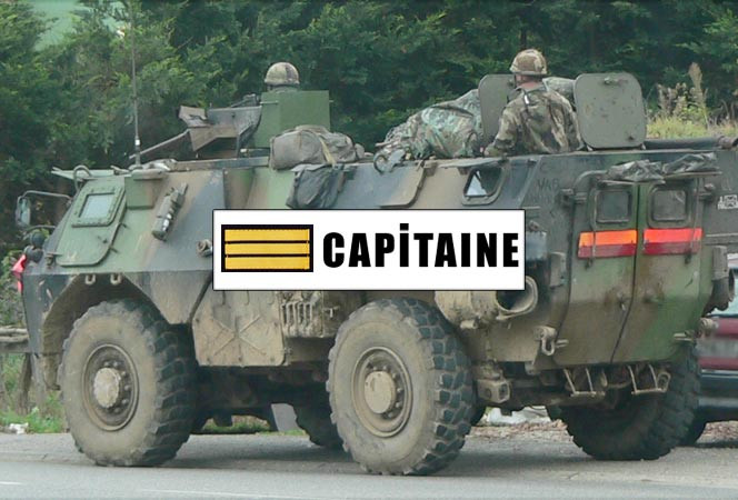 Attributs de grade capitaine